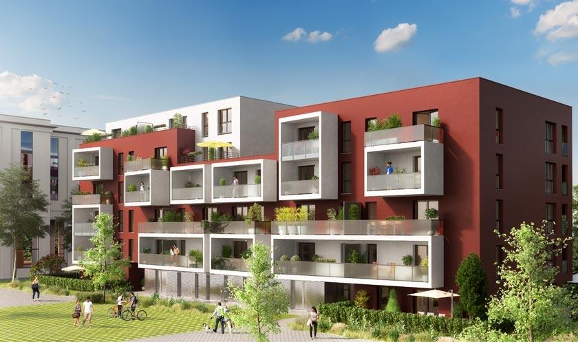 Cityside programme immobilier neuf strasbourg for Programme immobilier neuf