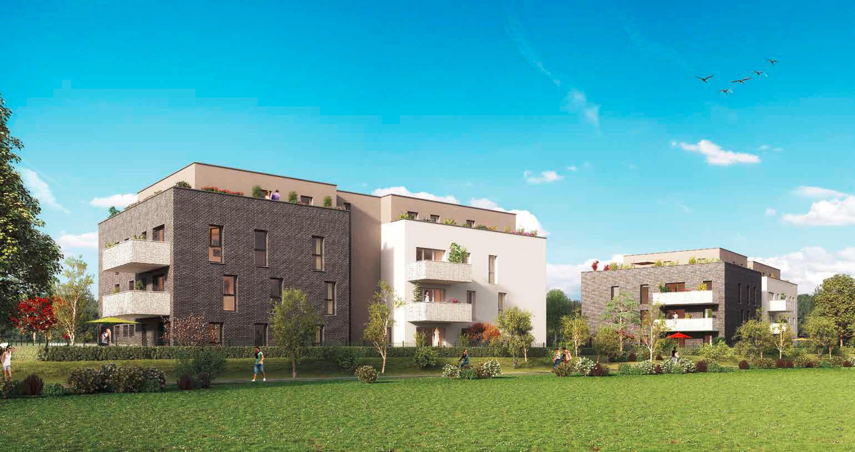 Programme immobilier neuf achenheim la cl des champs for Programme immobilier